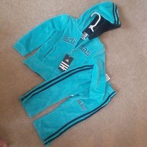 Adidas jacket and pants